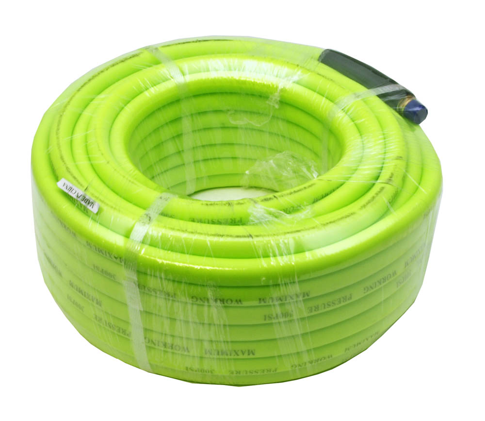 3/8 in x 50' High Pressure PVC Air Hose