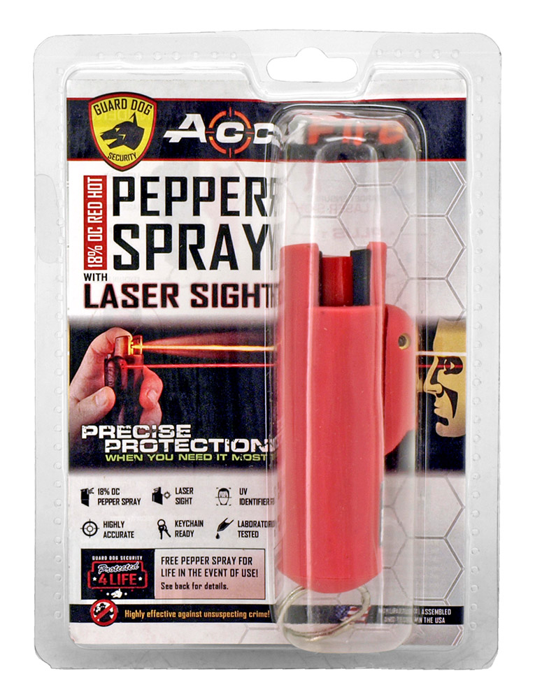 Pepper Spray with Lazer Sight - Pink