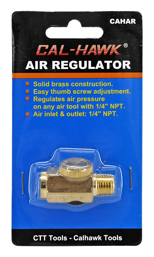 Solid Brass Air Regulator
