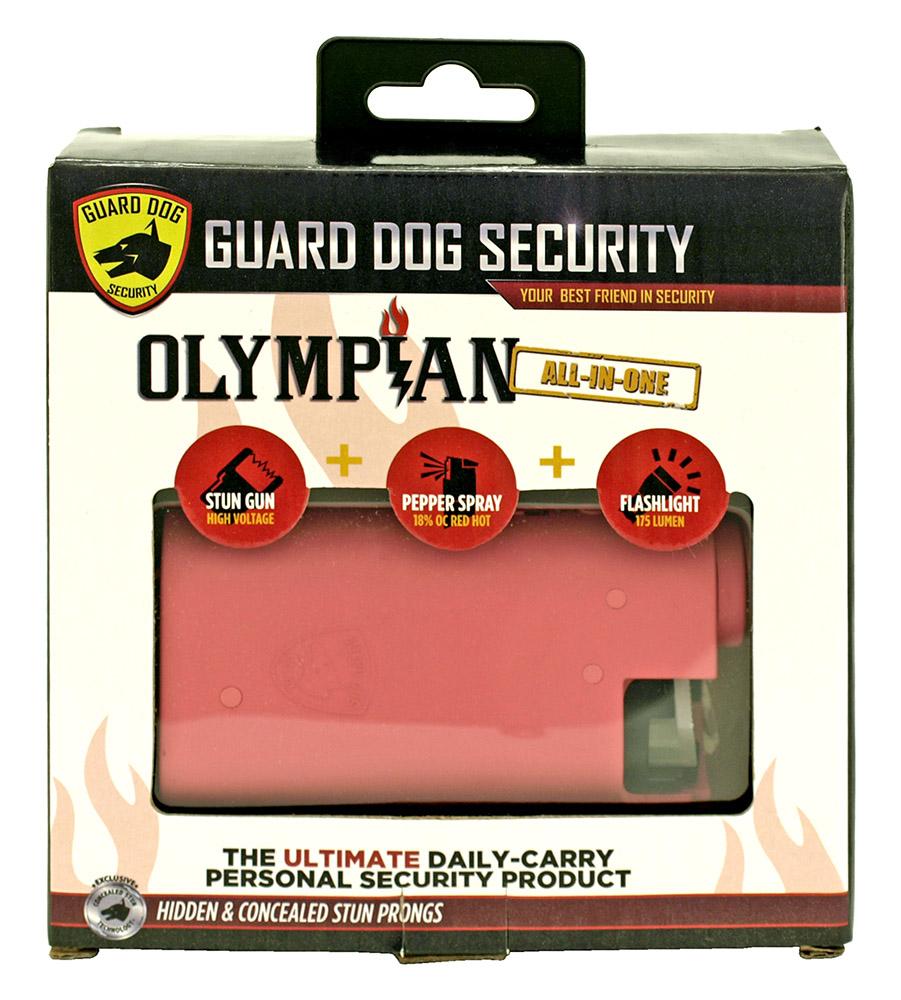 Olympian Stun Gun, Pepper Spray, and Flashlight - Pink