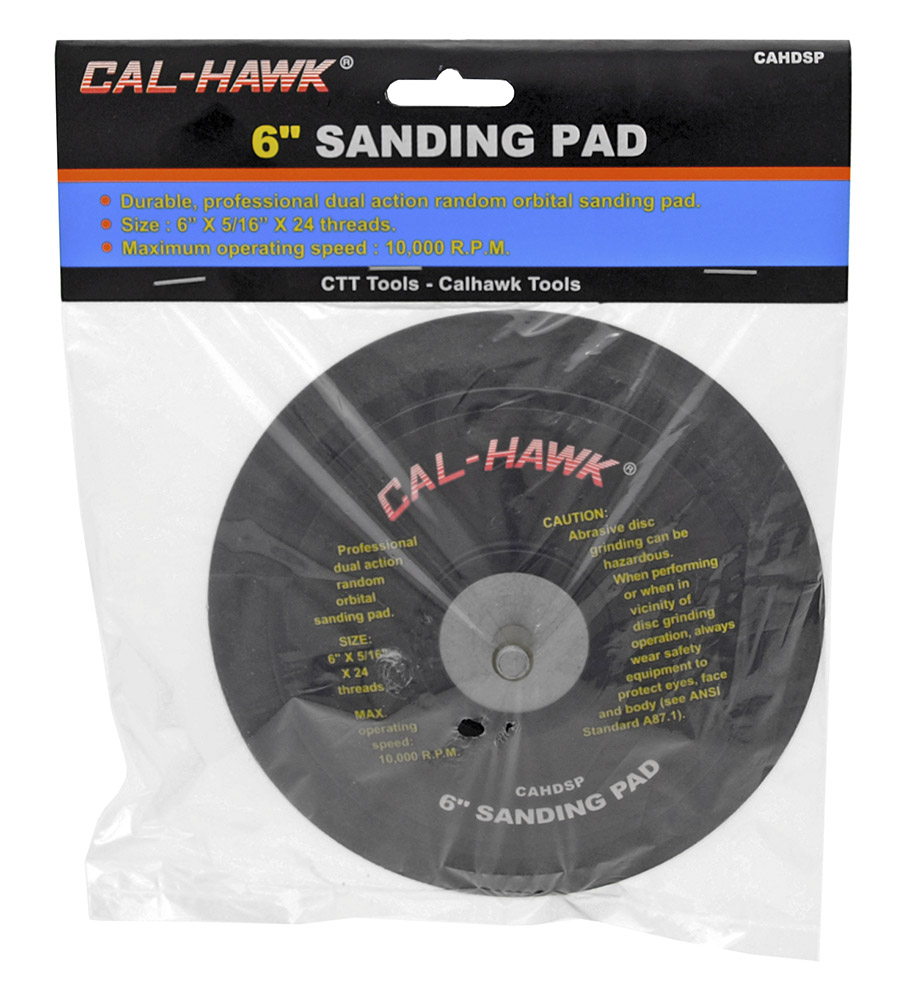 6 in Sanding Pad