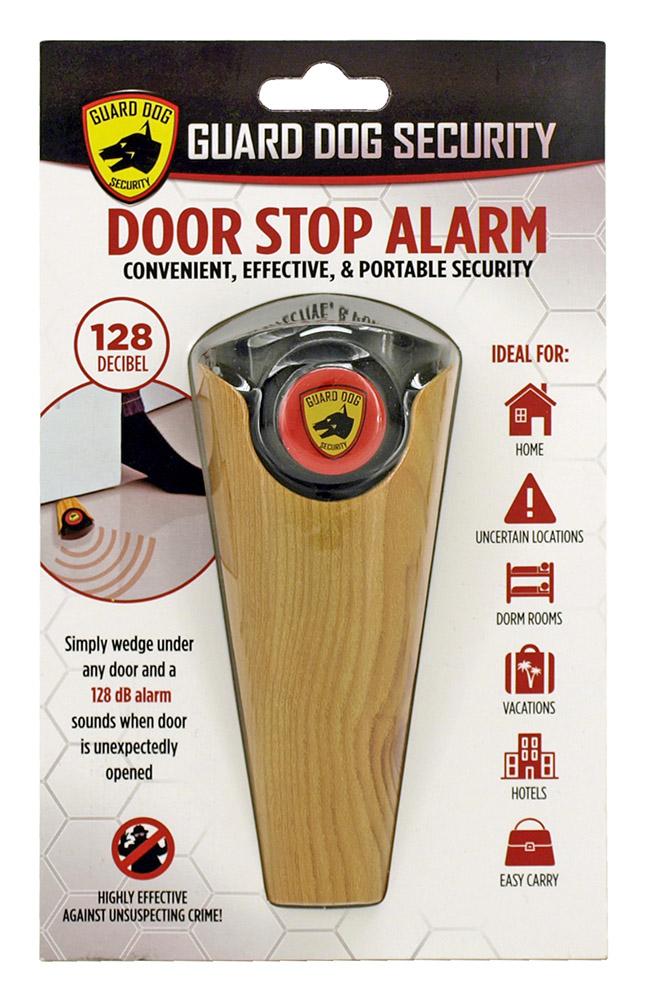 Door Stop Alarm - Wood