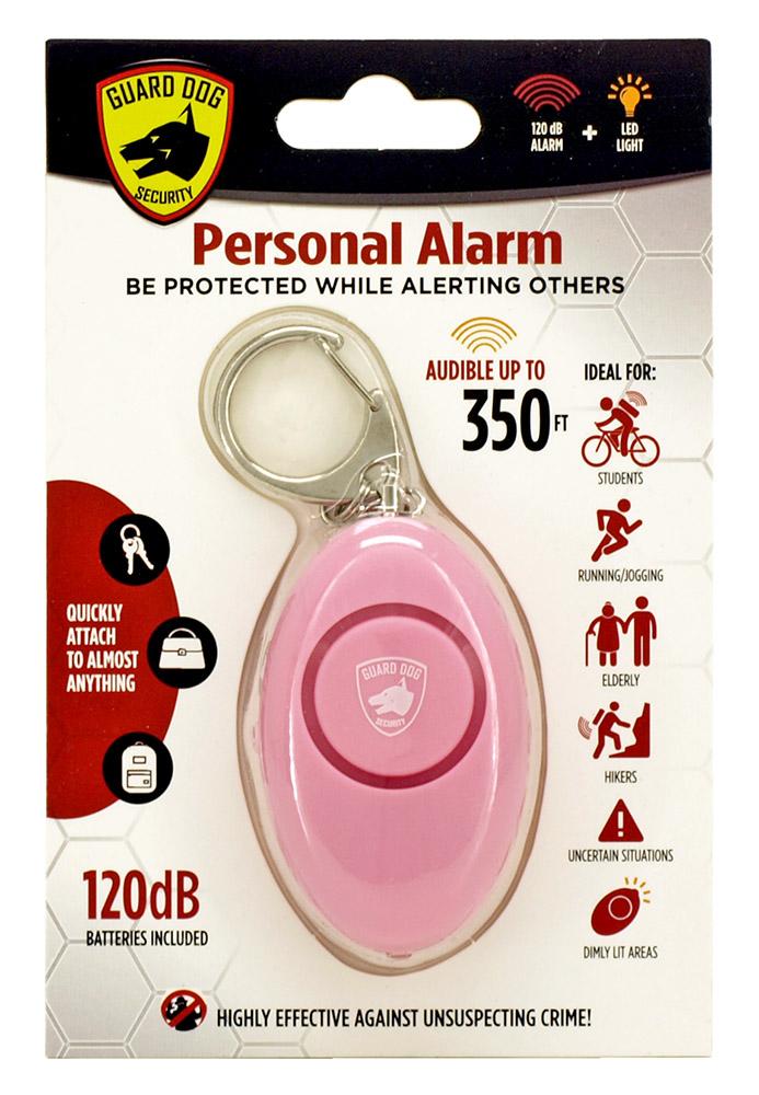 Personal Key Chain Alarm - Pink