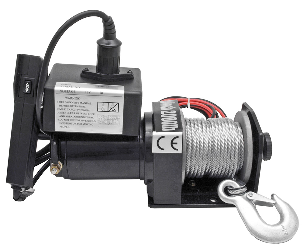 2,000 Lb Electric Winch
