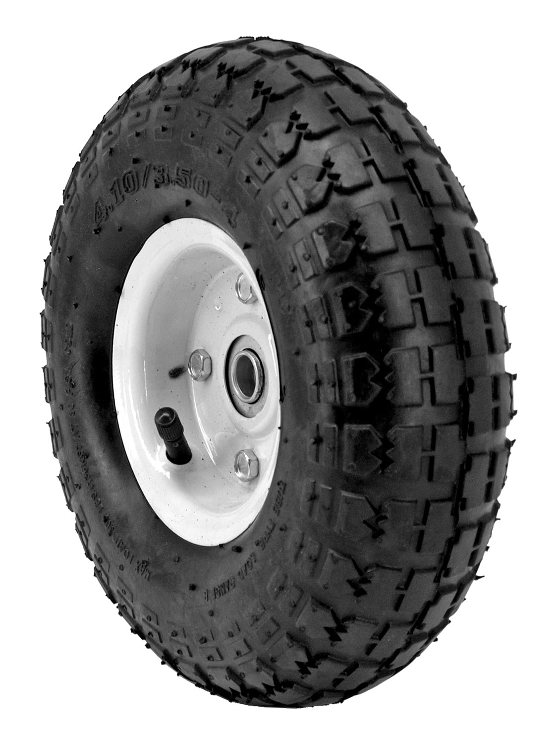 10 in Air Tire - Black