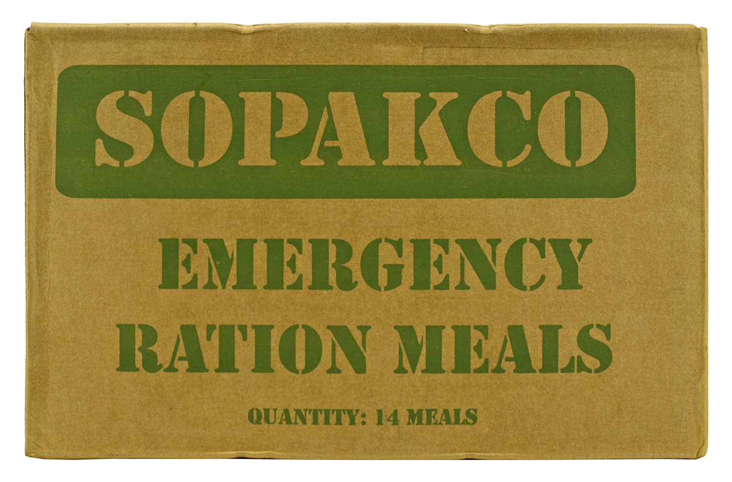 Box of 14 Sopakco Meals Ready to Eat (MREs)
