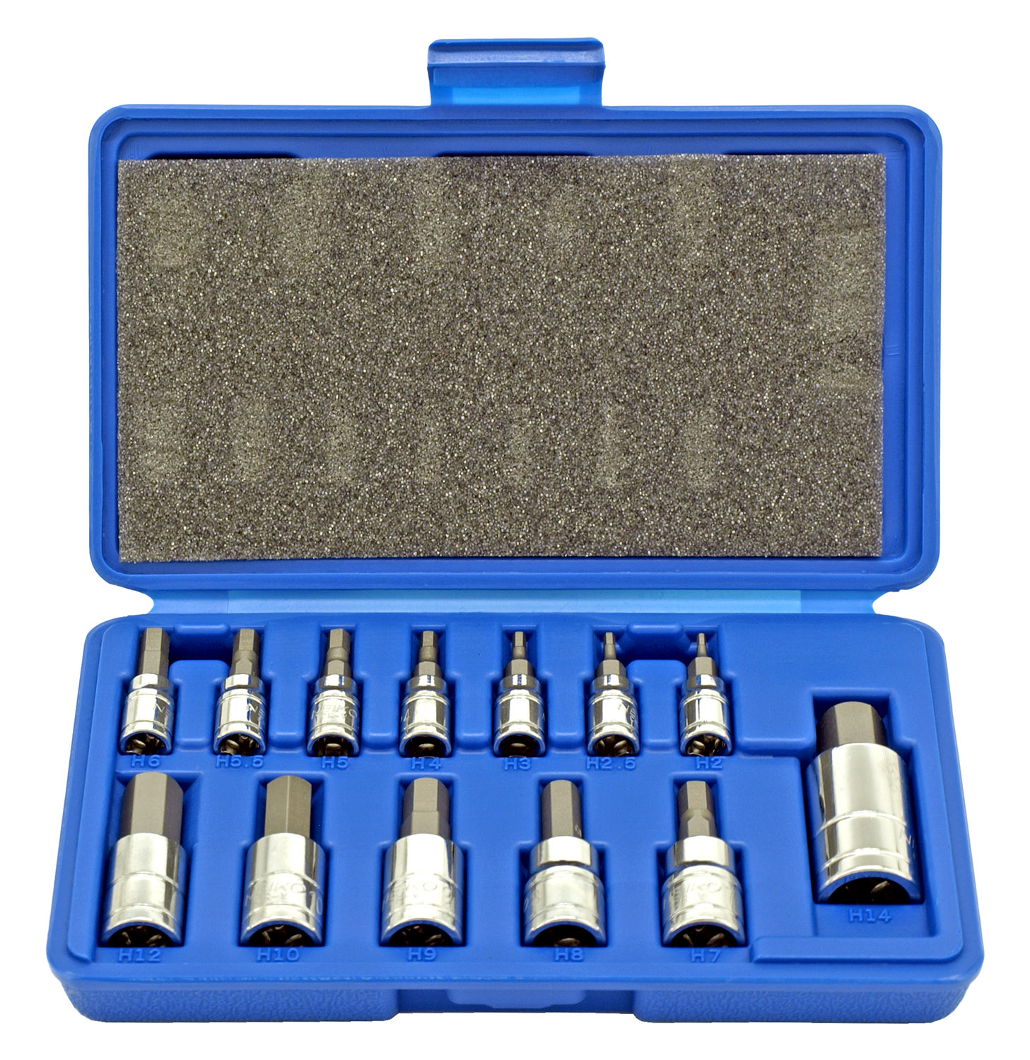 Neiko 13 - pc. Hex Bit Socket Set