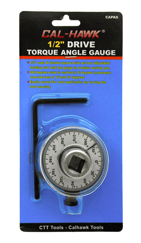 .5 in Drive Torque Angle Gauge