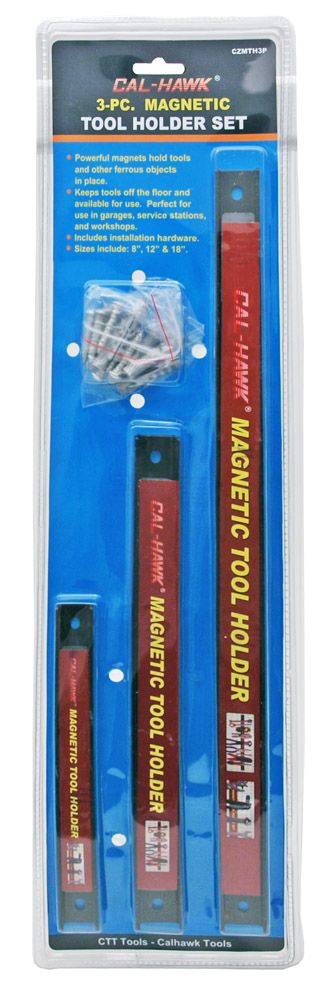 3-pc. Magnetic Tool Holder Set