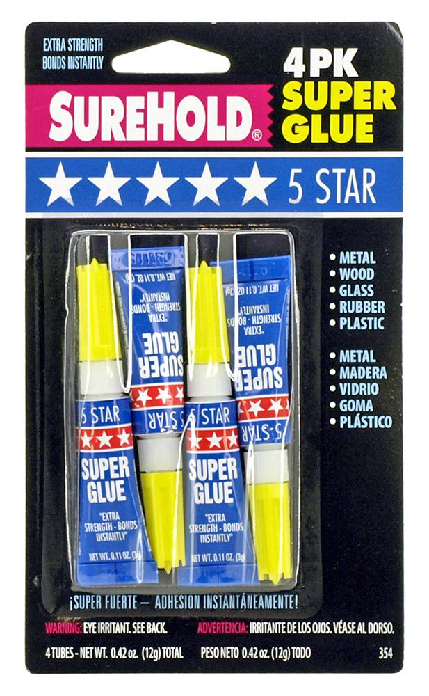 4 - pk. Super Glue