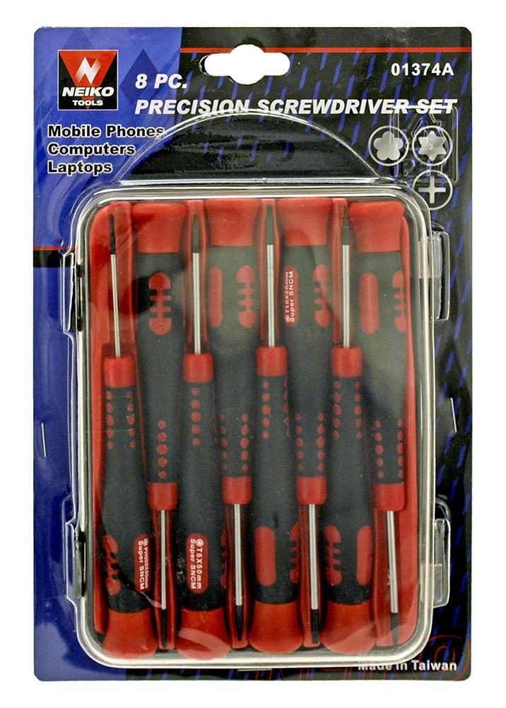 8 - pc. Precision Screwdriver Set