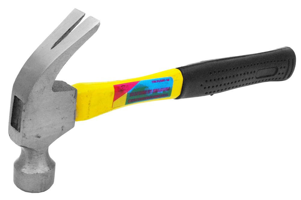16-oz Claw Hammer with Fiberglass Handle
