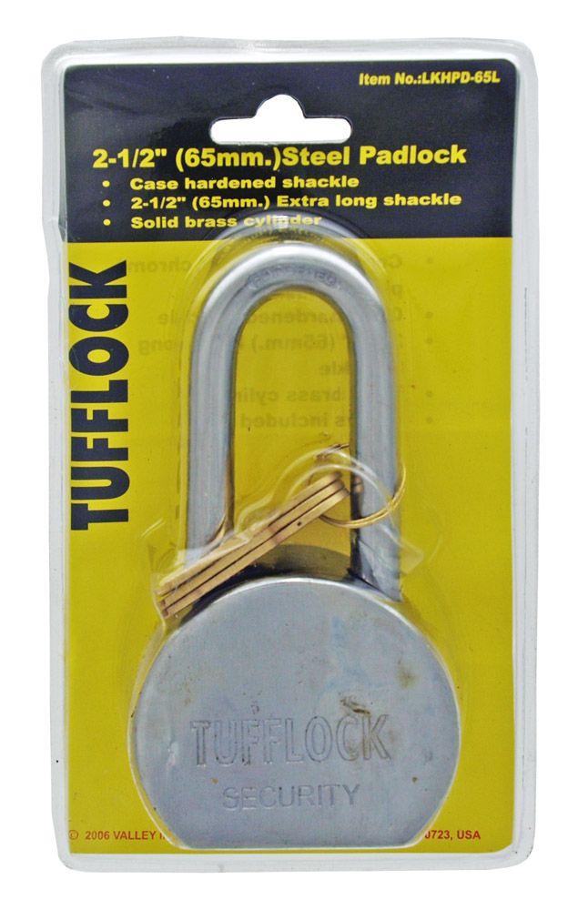 TuffLock 65mm Hard Steel Lock