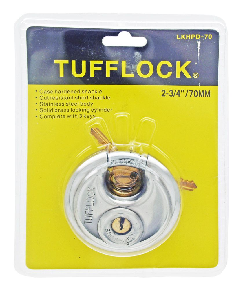 TuffLock 70mm Steel Disc Lock