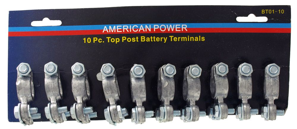 10-pc. Top Post Battery Terminal
