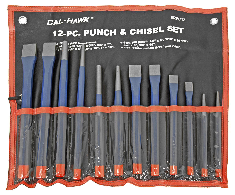 12-pc. Punch & Chisel Set