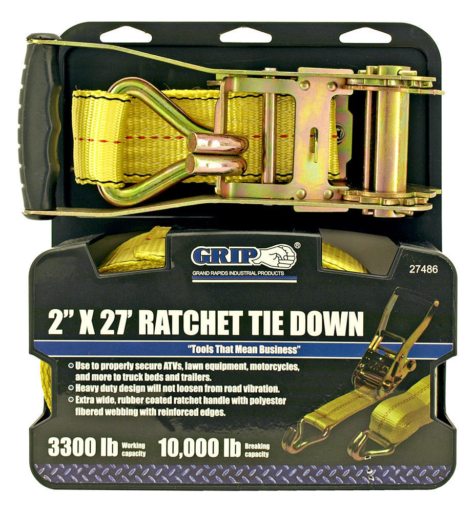 2 in x 27' Ratchet Tie Down