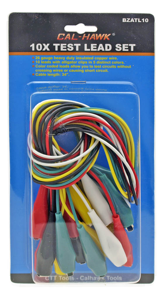 12-pc. Test Lead Set