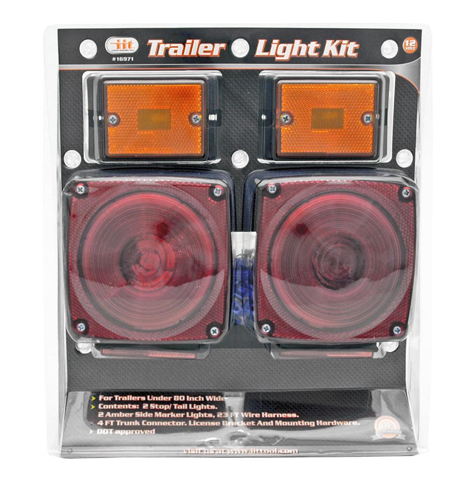 DOT Approved Trailer Light Kit