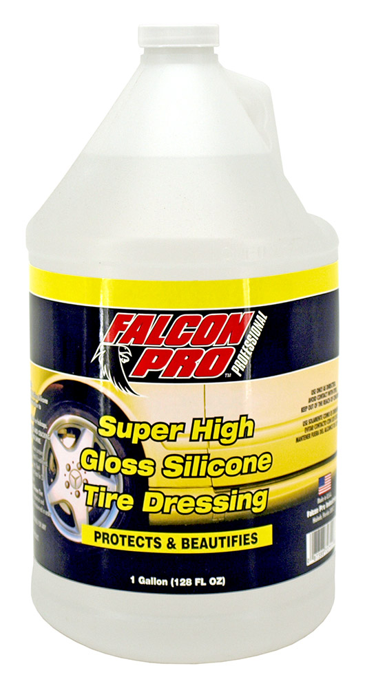 Super High Gloss Silicone Tire Dressing - 1 Gallon