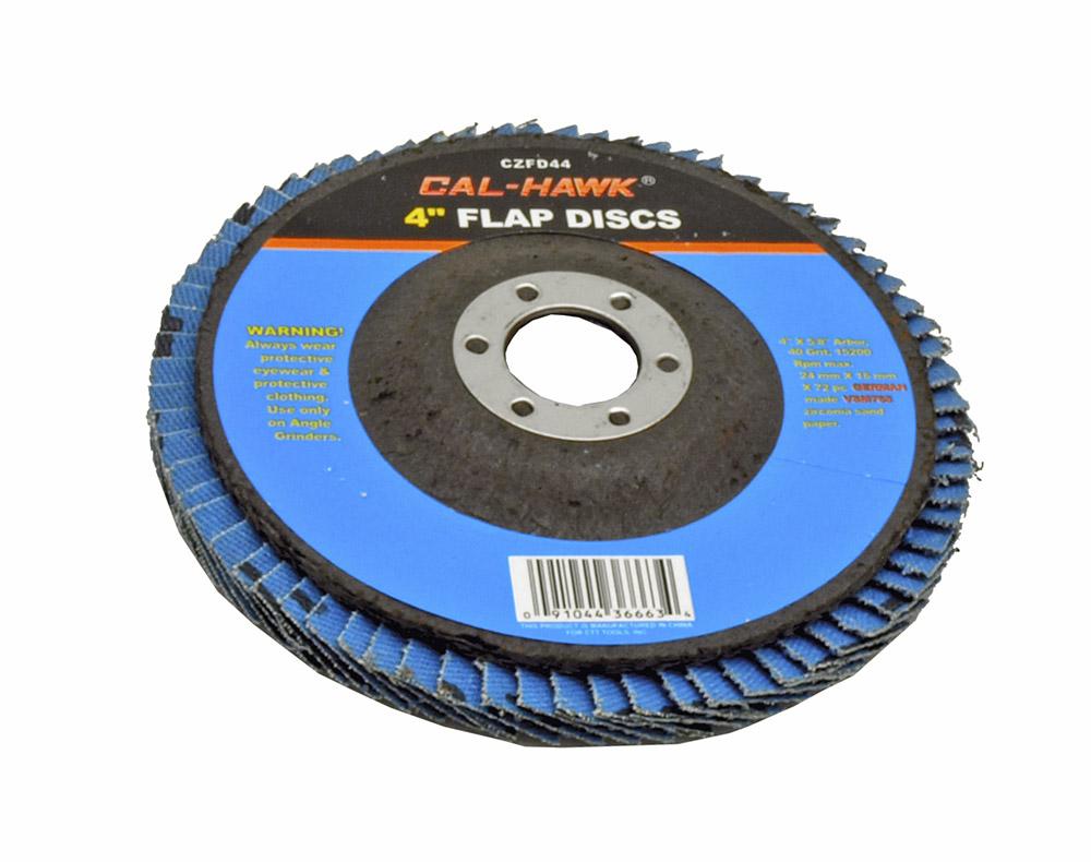 4 in Flap Disc - 40 Grit