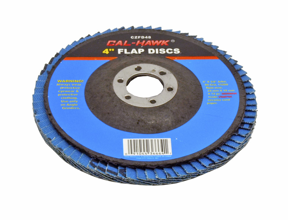 4 in Flap Disc - 80 Grit