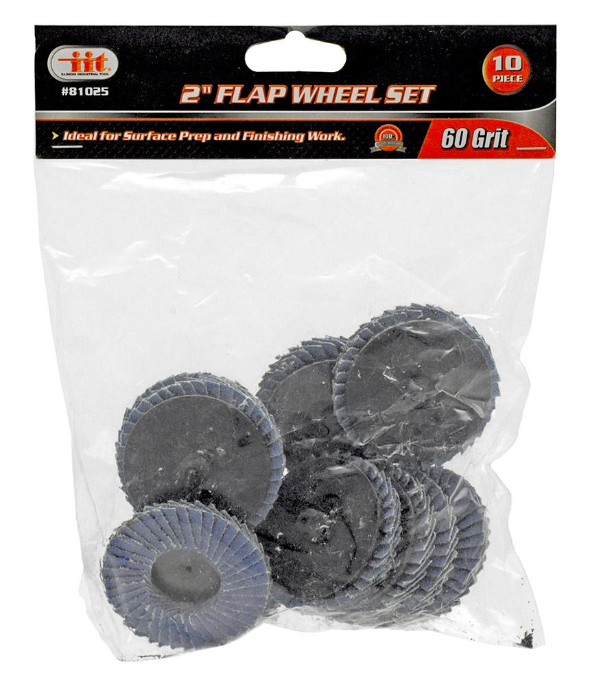 2 in Flap Wheel Set - 60 Grit