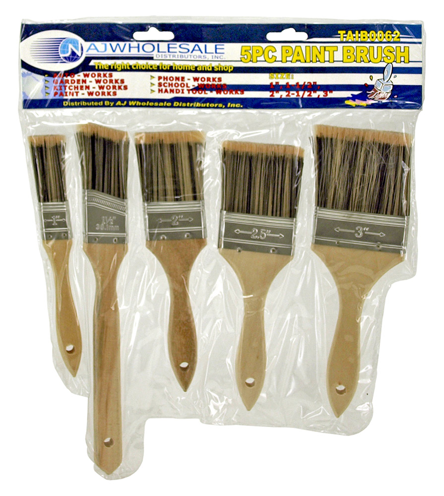 5 - pc. Paint Brush Set