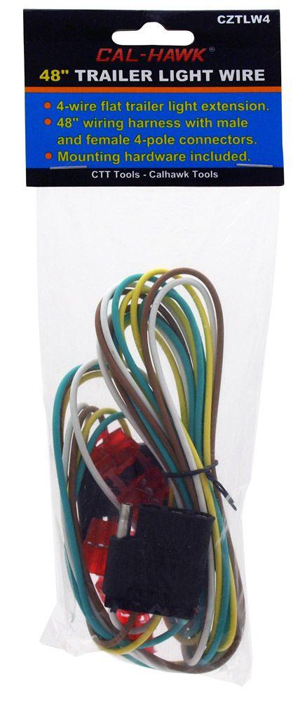 48 in Trailer Light Wire