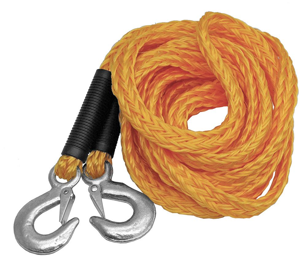 1 in x 20' Tow Rope with Hooks