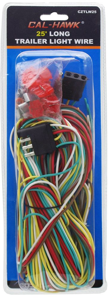 25' Long Trailer Light Wire