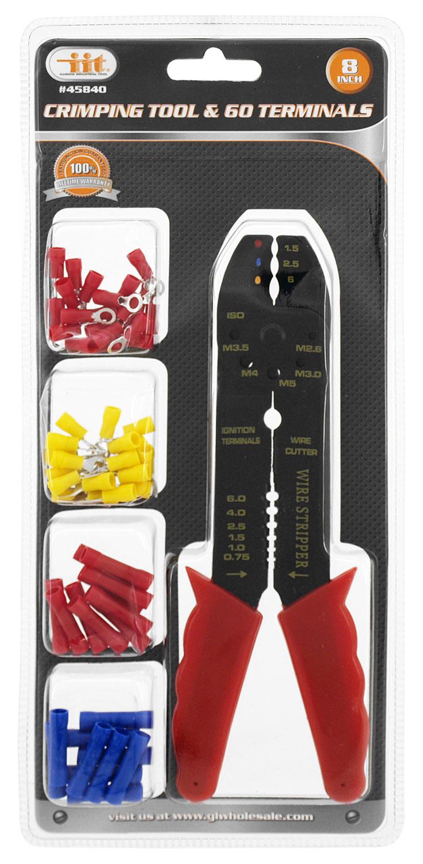 60-pc. Crimping Tool & Terminals
