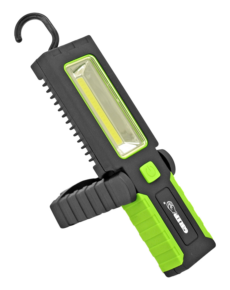 3 Watt COB Pivoting Worklight - Green
