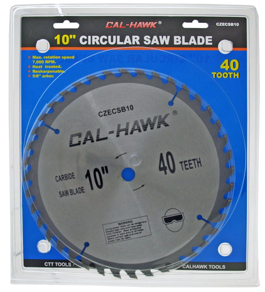 10 in Circular Saw Blade - 40 Tooth