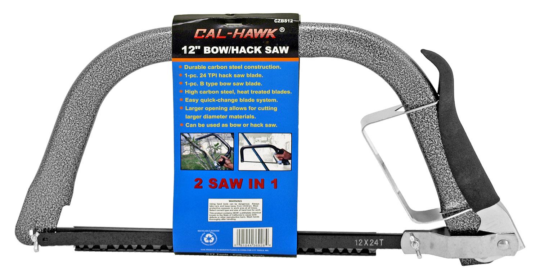Cal-Hawk 12 in Bow/Hack Saw