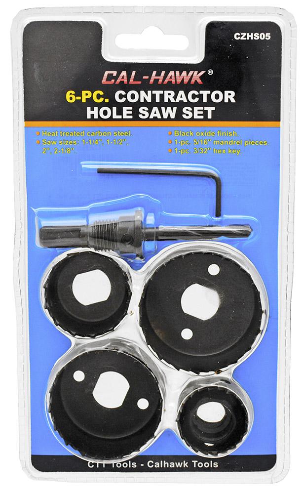 5-pc. Hole Saw Set