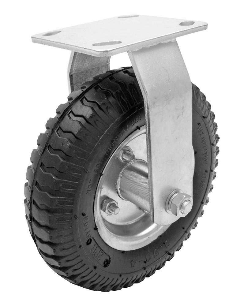 8 in Pneumatic Rubber Rigid Wheel