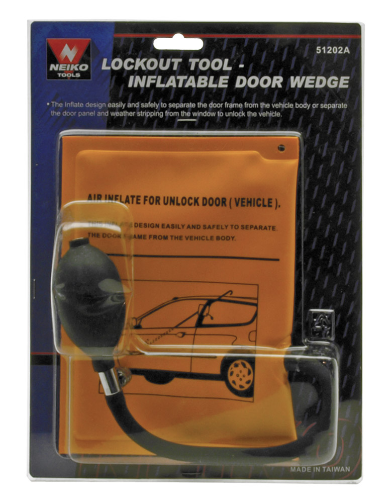 Inflatable Door Wedge - Lockout Tool