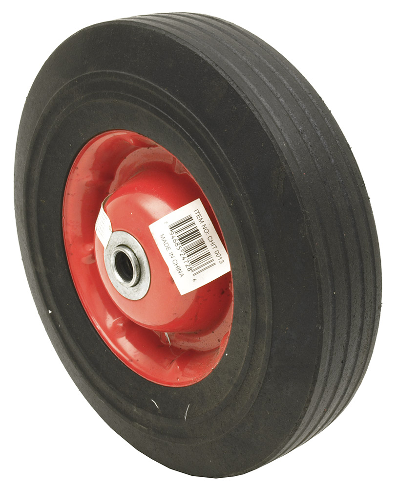 10 in Solid Hand Truck Tire