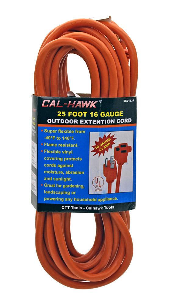 16 Gauge 25' Extension Cord