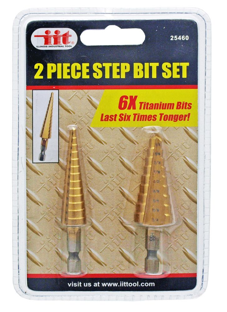 2-pc. Step Drill Bet Set
