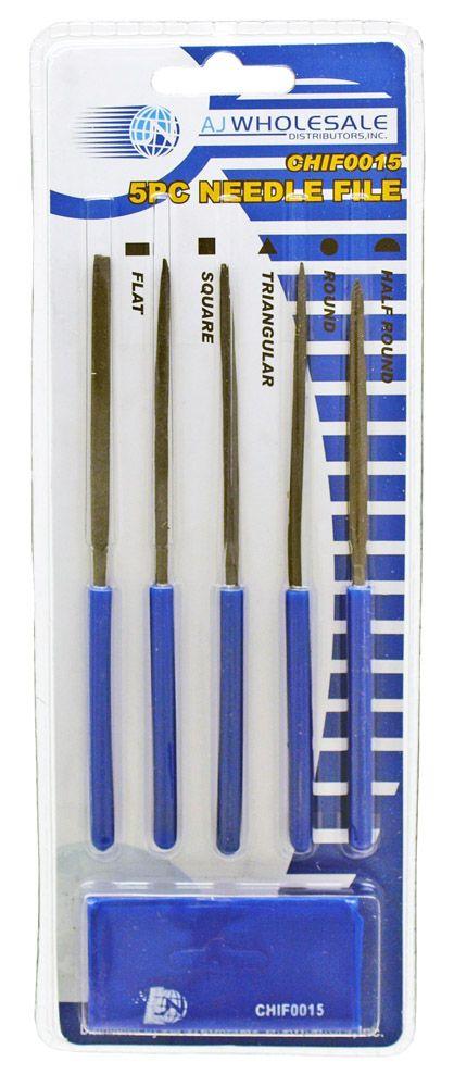 5-pc. Needle File Set