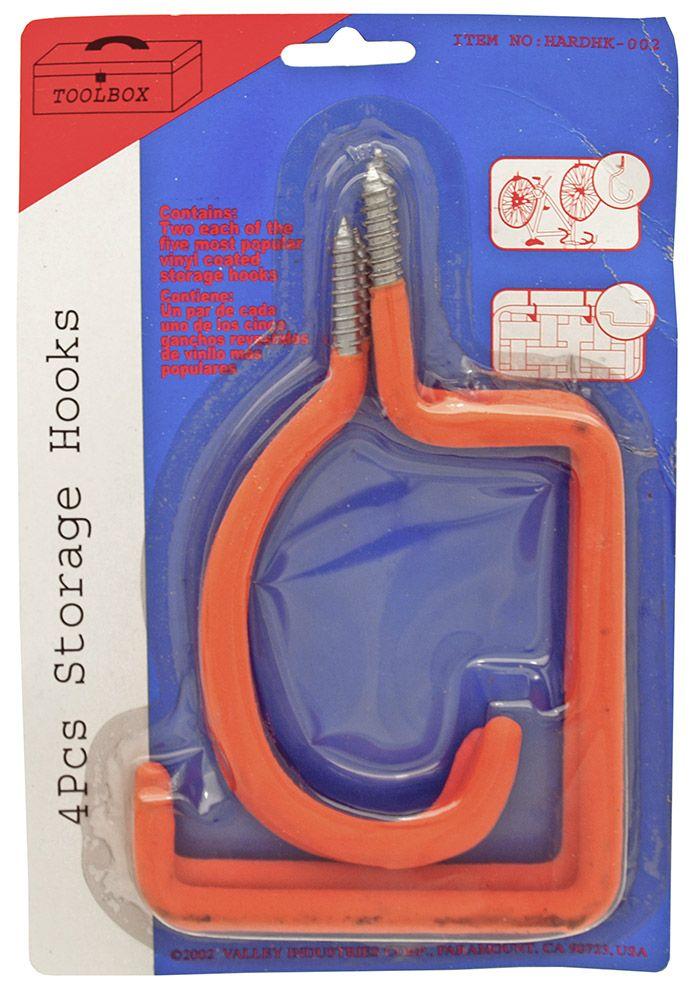4-pc. Storage Hook Set
