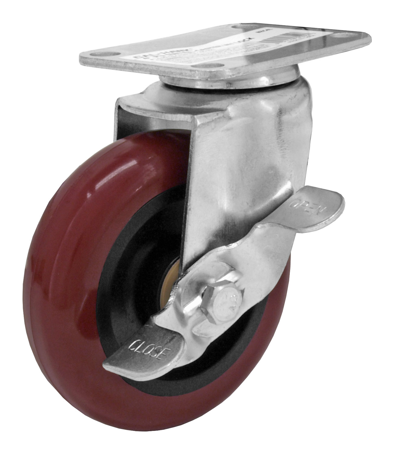 4 in Swivel Caster with Lock