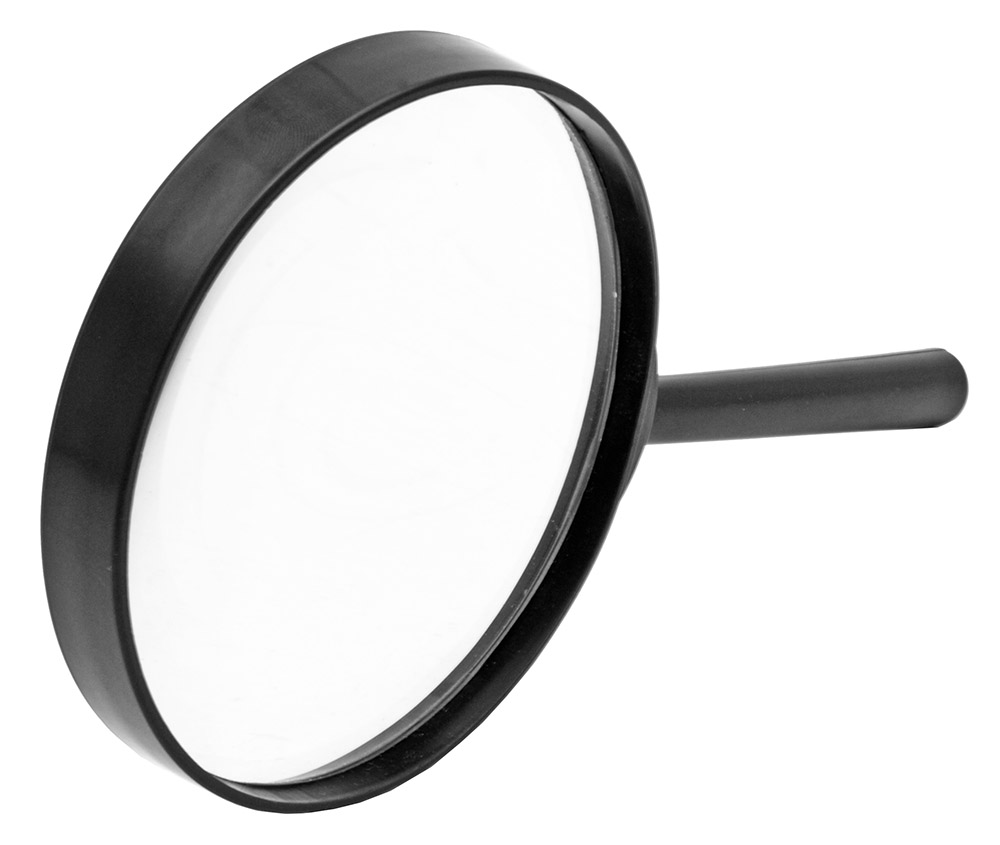4 in Magnifying Glass