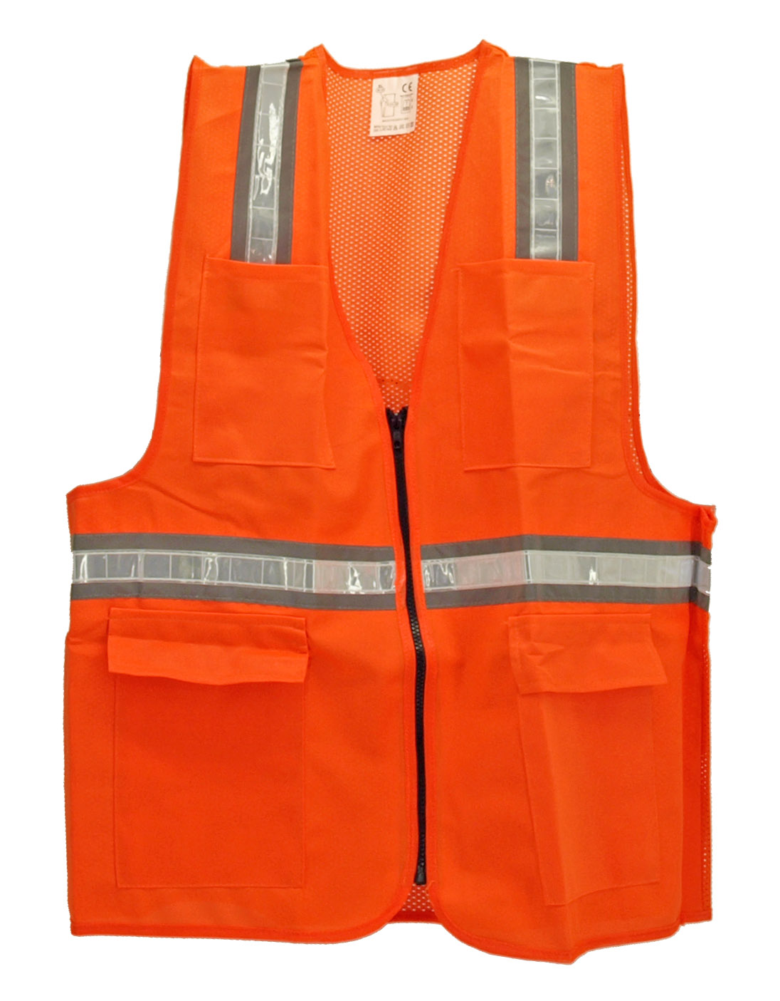 XL Orange Color Safety Vest