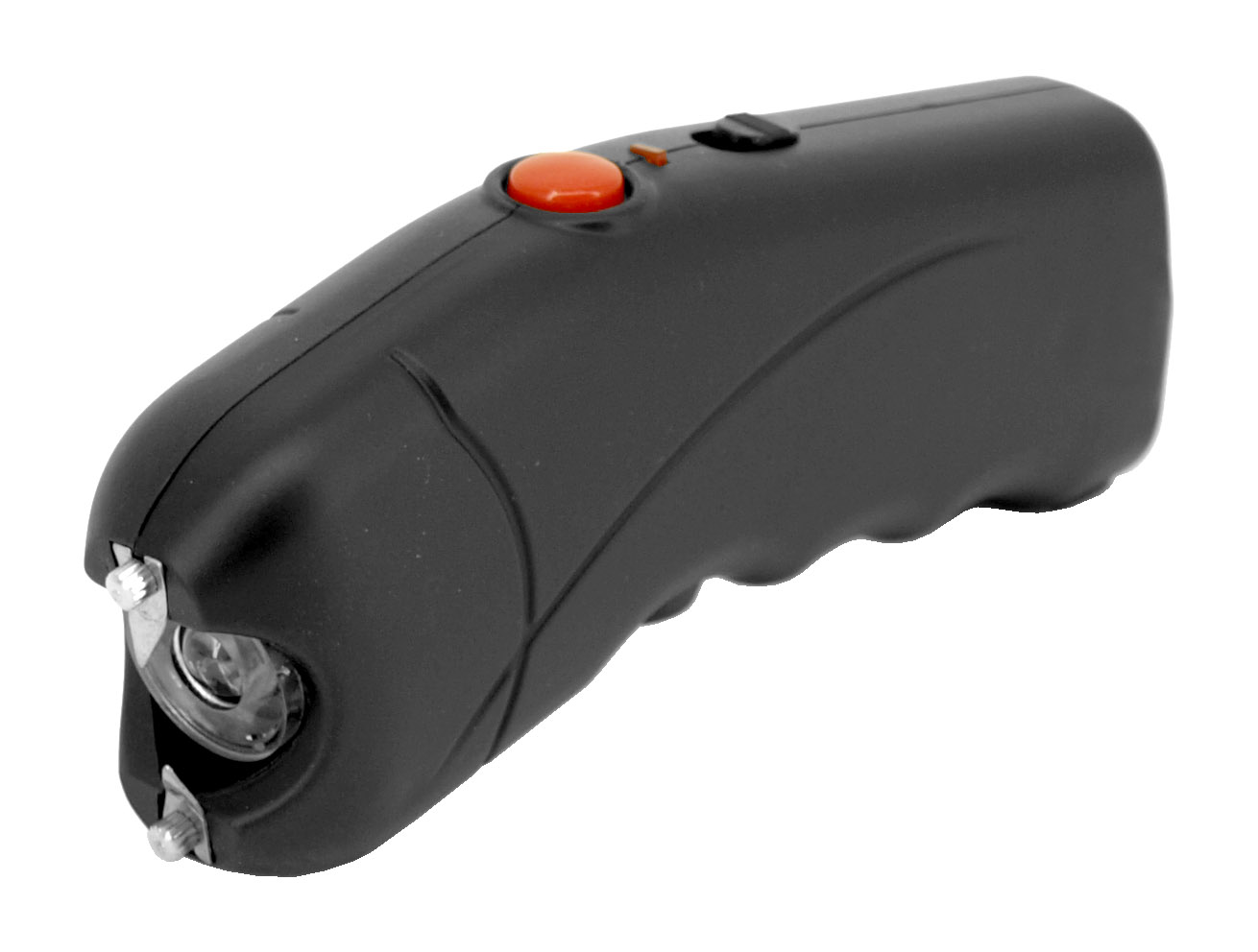 LED Flashlight Stun Gun - Black