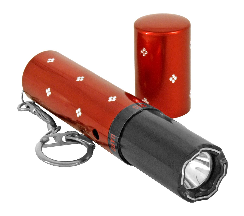 Guard Dog Lipstick Keychain Stun Gun - Red