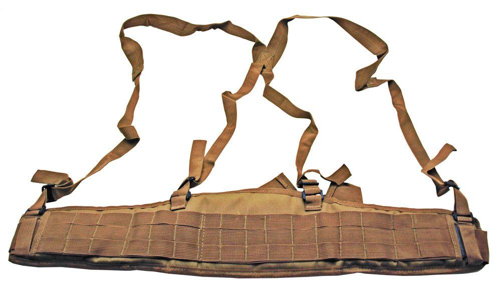 Deluxe MOLLE Tactical Belt - Tan