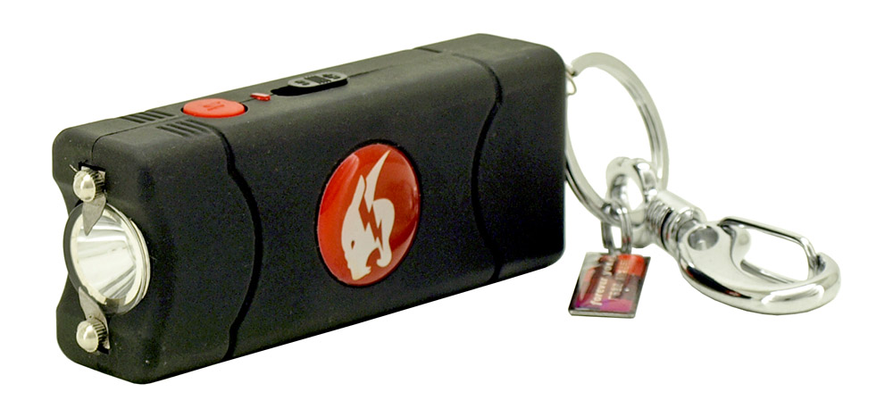 Stun Gun and Flashlight with Carrying Case